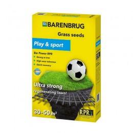 Газонная трава Barenbrug play and sport (игра и спорт) 1 кг
