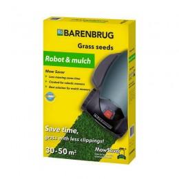 Газонная трава Barenbrug robot and mulch (меньше скашиваний) 1 кг