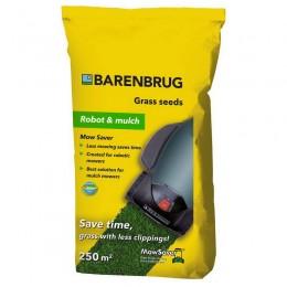 Газонная трава Barenbrug robot and mulch (меньше скашиваний) 5 кг
