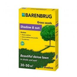 Газонная трава Barenbrug shadow and sun (тень и солнце) 1 кг